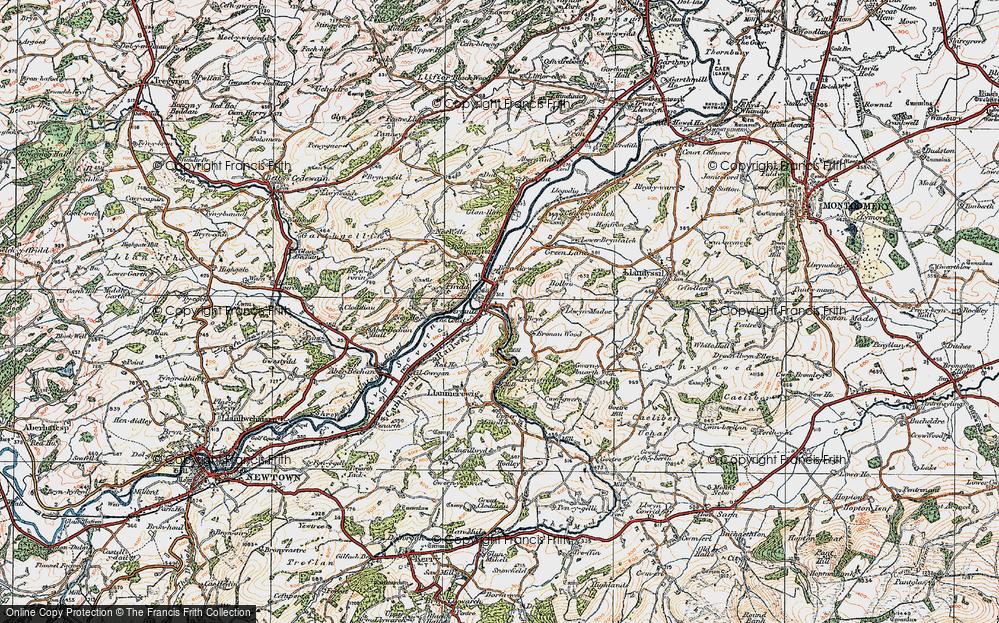 Abermule/Aber-miwl, 1921