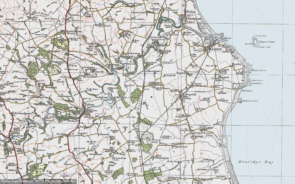 Acklington, 1925