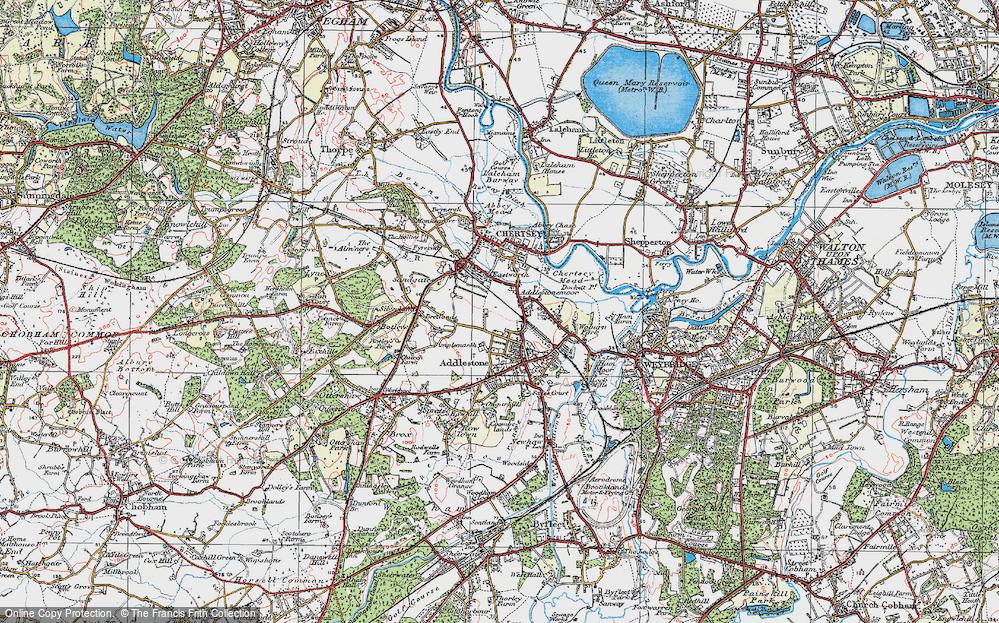 Addlestonemoor, 1920