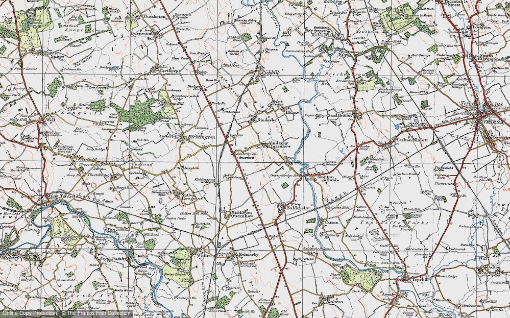 Ainderby Quernhow, 1925