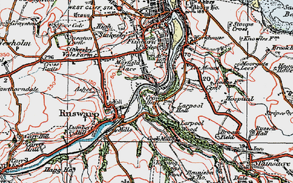 Old map of Airy Hill in 1925