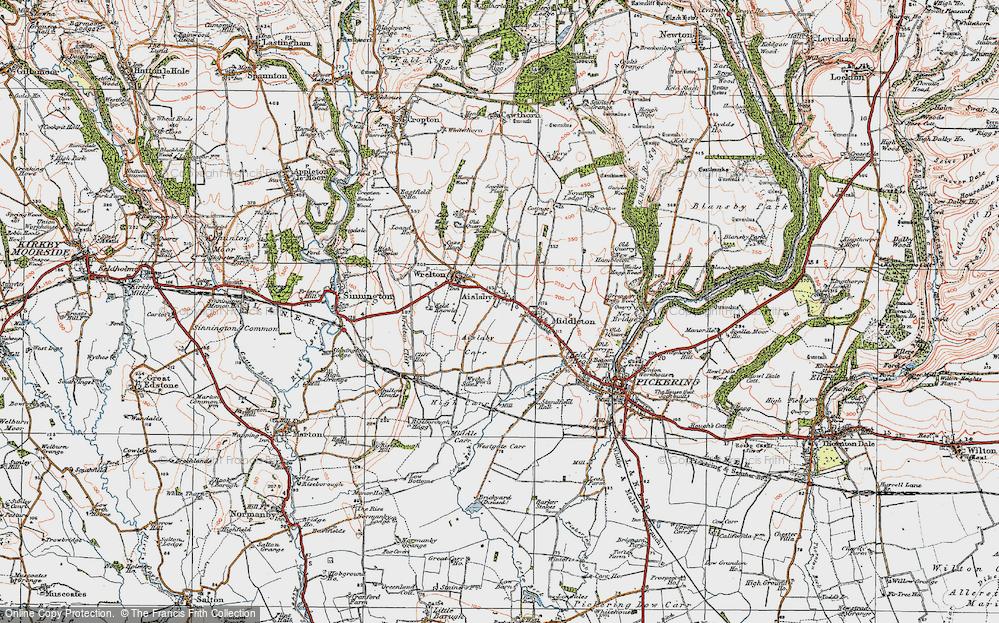Aislaby, 1925