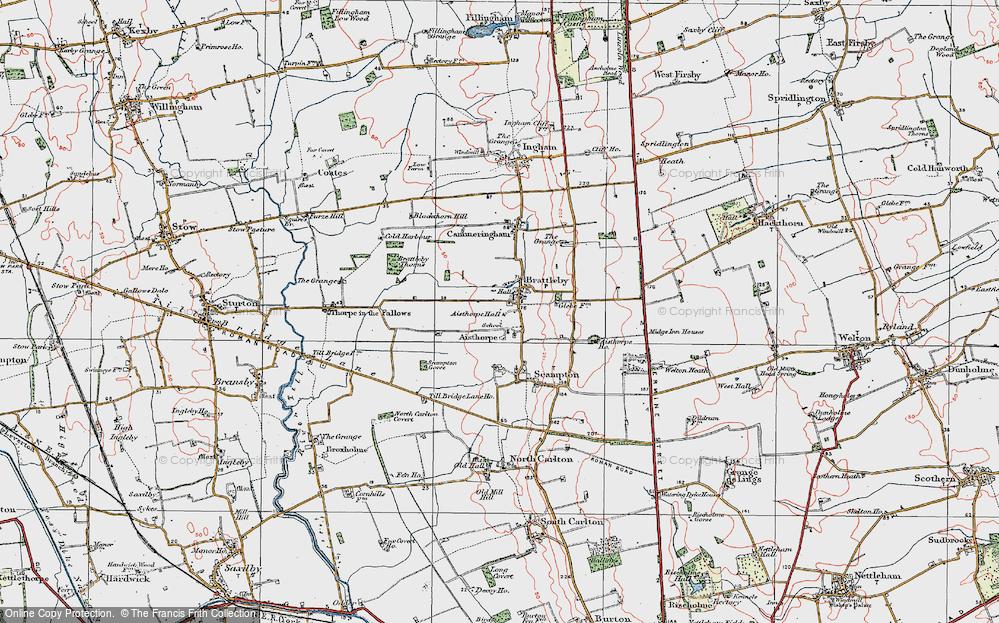 Aisthorpe, 1923