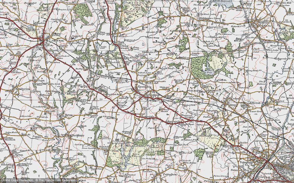 Albrighton, 1921