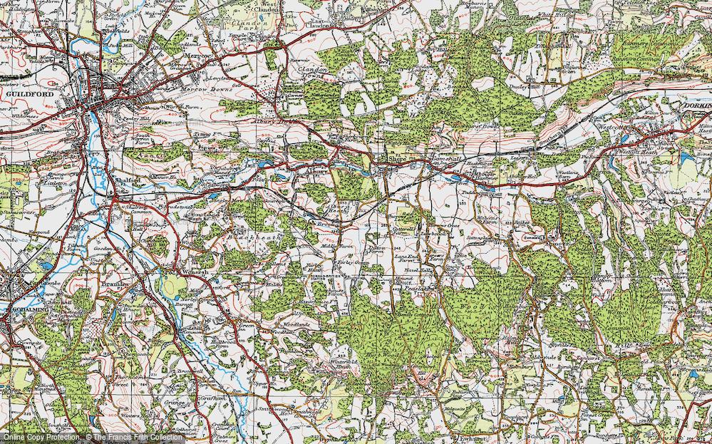 Albury Heath, 1920
