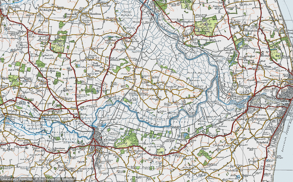 Aldeby, 1921