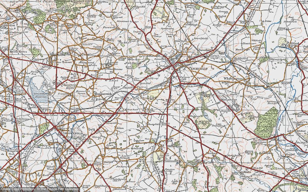 Aldershawe, 1921