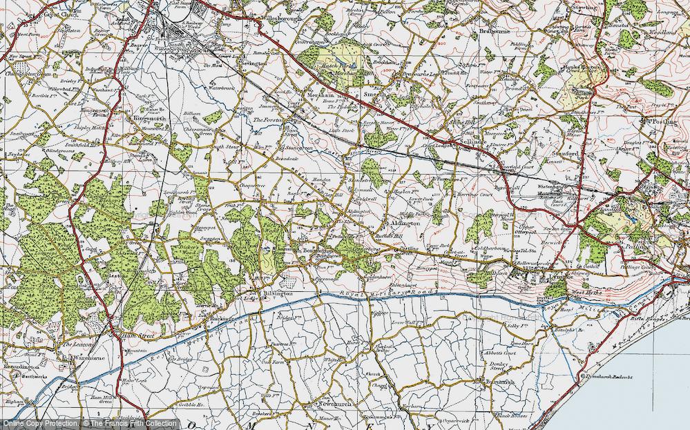 Aldington, 1921