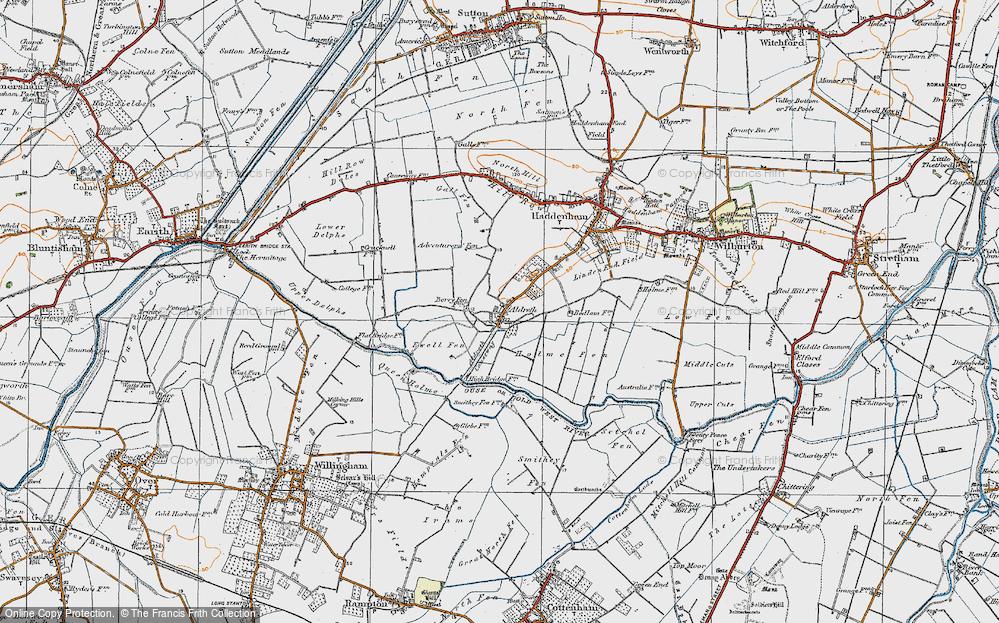Aldreth, 1920