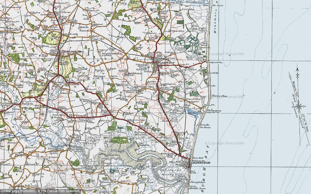 Aldringham, 1921