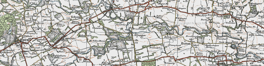 Old map of Whitemire in 1926