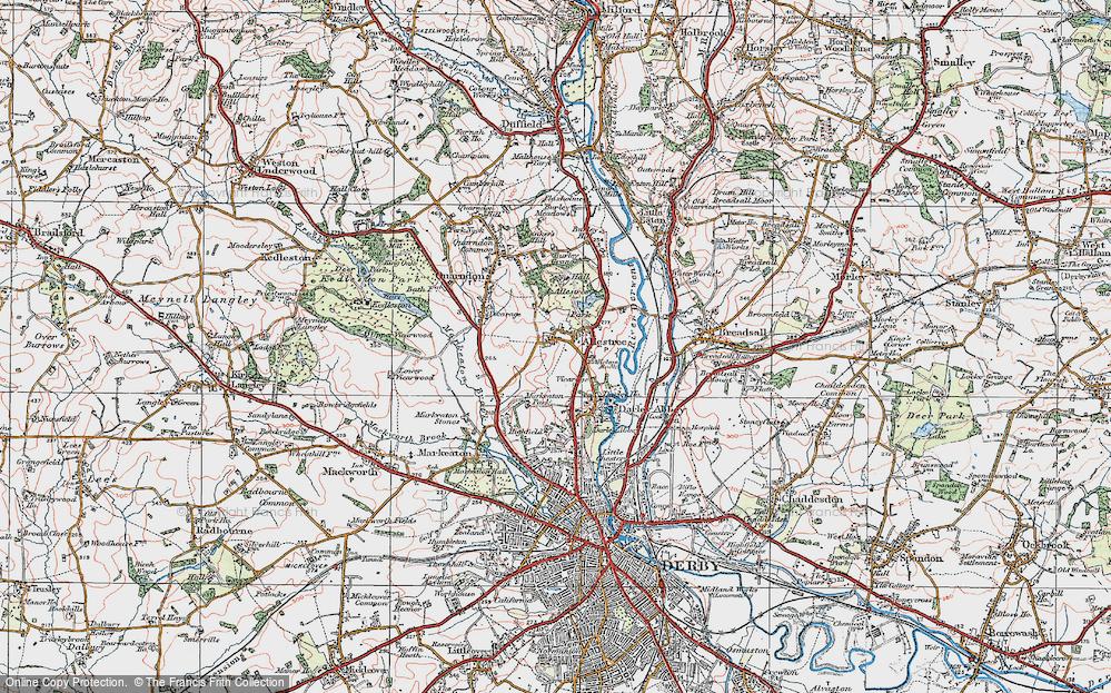 Allestree, 1921