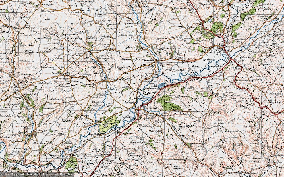 Alltyblaca, 1923