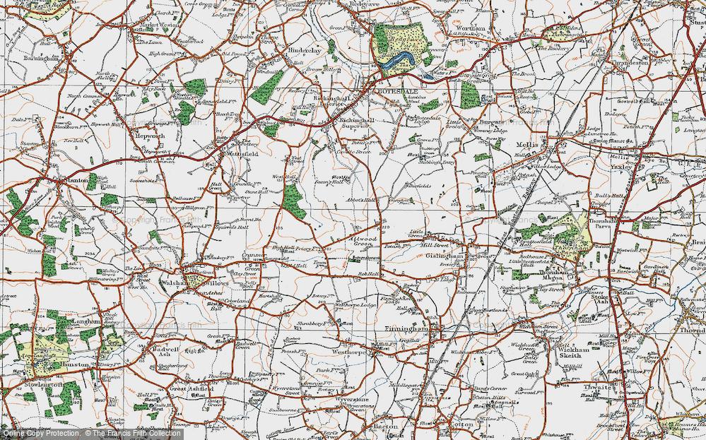 Allwood Green, 1920