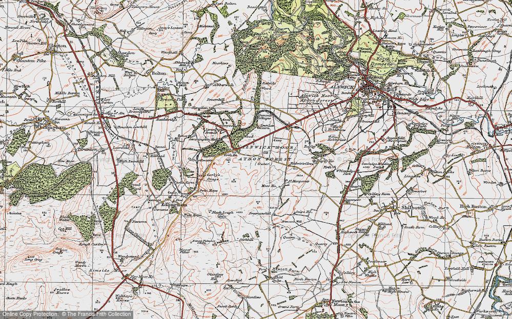 Alnwick Moor, 1925