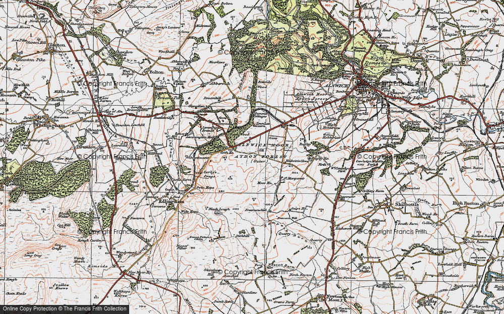 Alnwick Moor or Aydon Forest (Outer), 1925