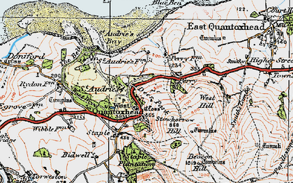 Old map of Amitabha Buddhist Centre in 1919