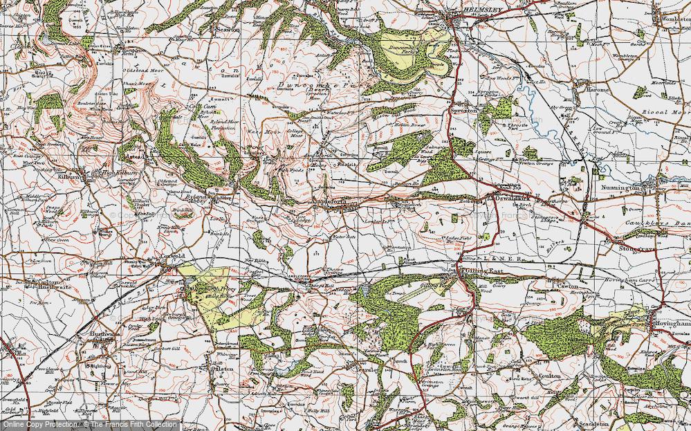 Ampleforth, 1925