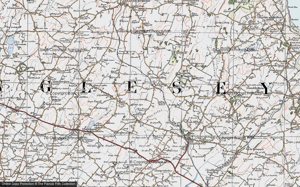 Anglesey/Ynysmôn, 1922