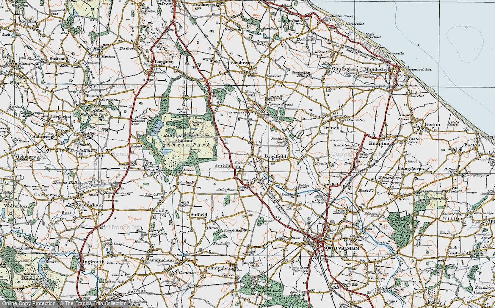 Antingham, 1922