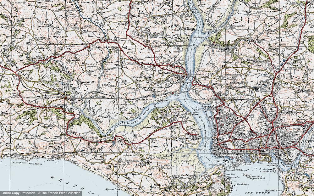Antony Passage, 1919