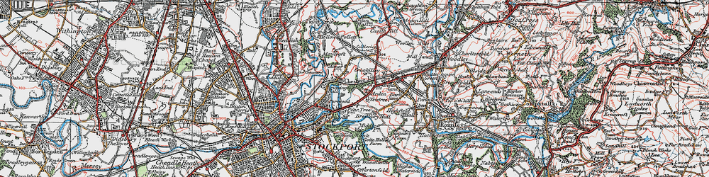Old map of Arden Park in 1923