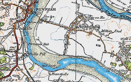 Old map of Arlingham in 1919