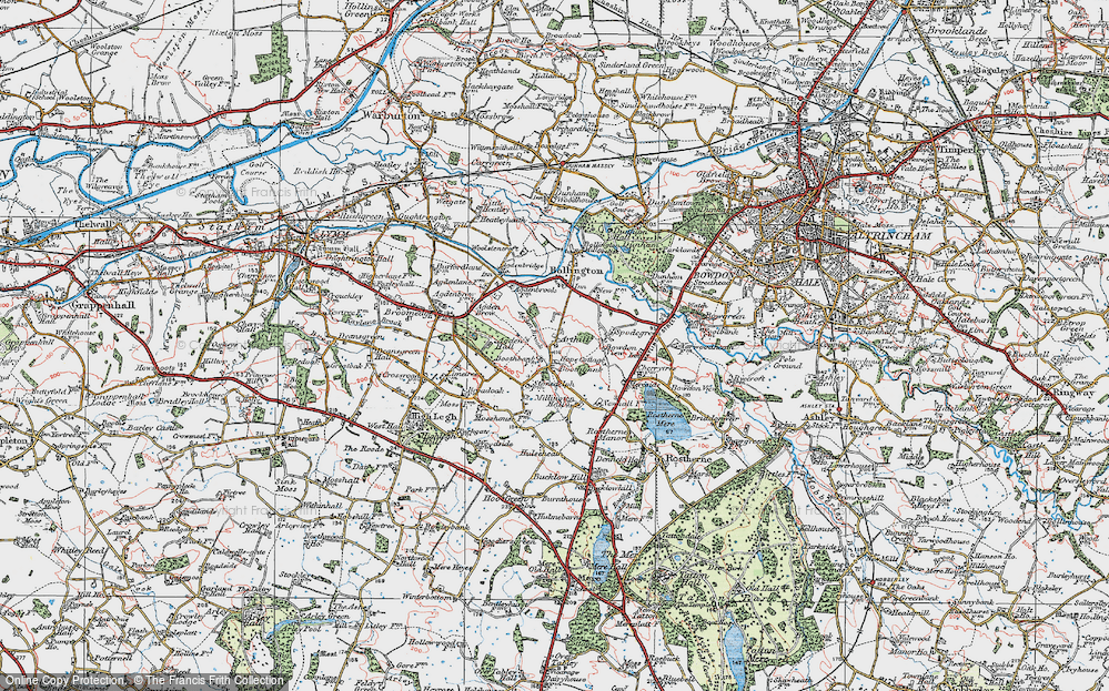 Old Map of Arthill, 1923 in 1923