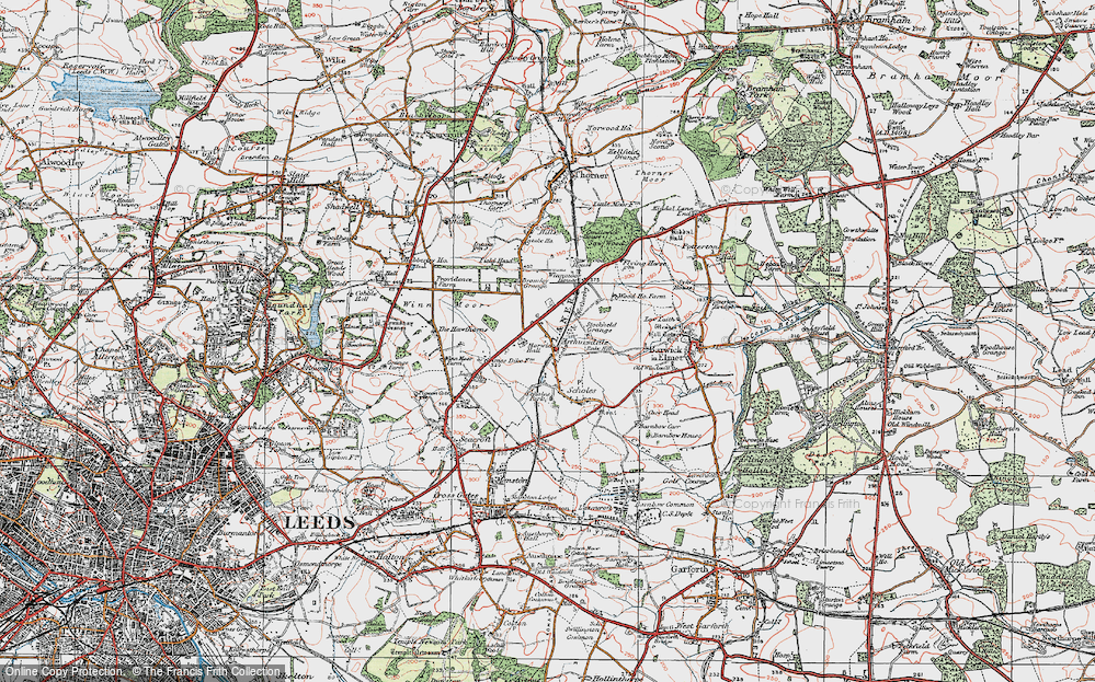 Old Map of Arthursdale, 1925 in 1925