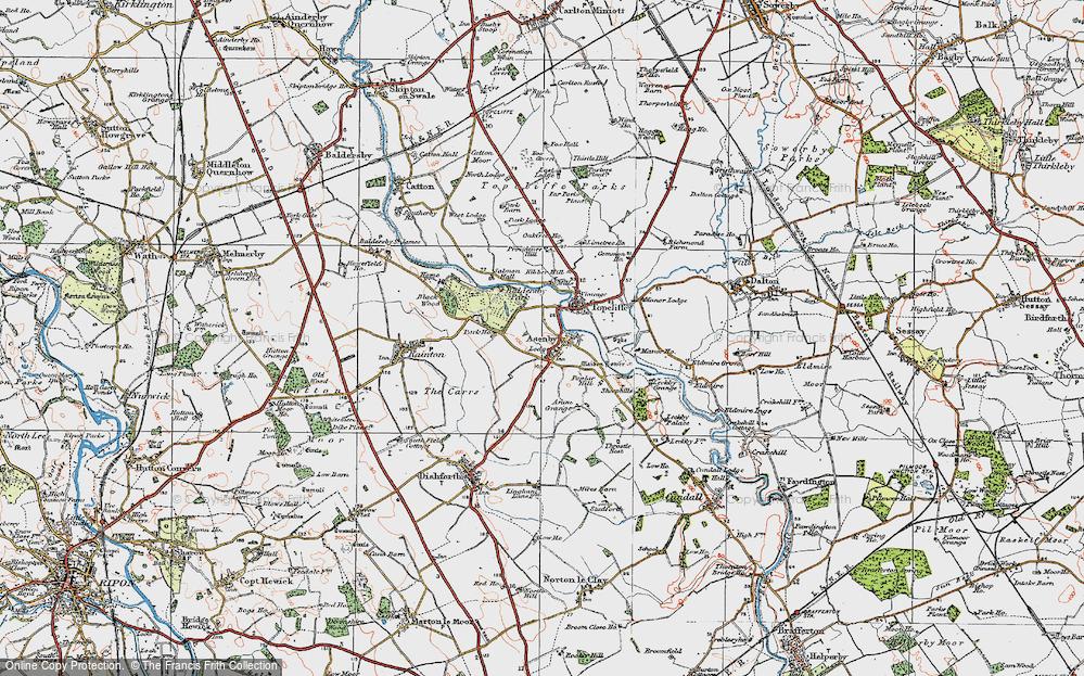 Asenby, 1925