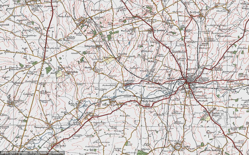 Asfordby, 1921