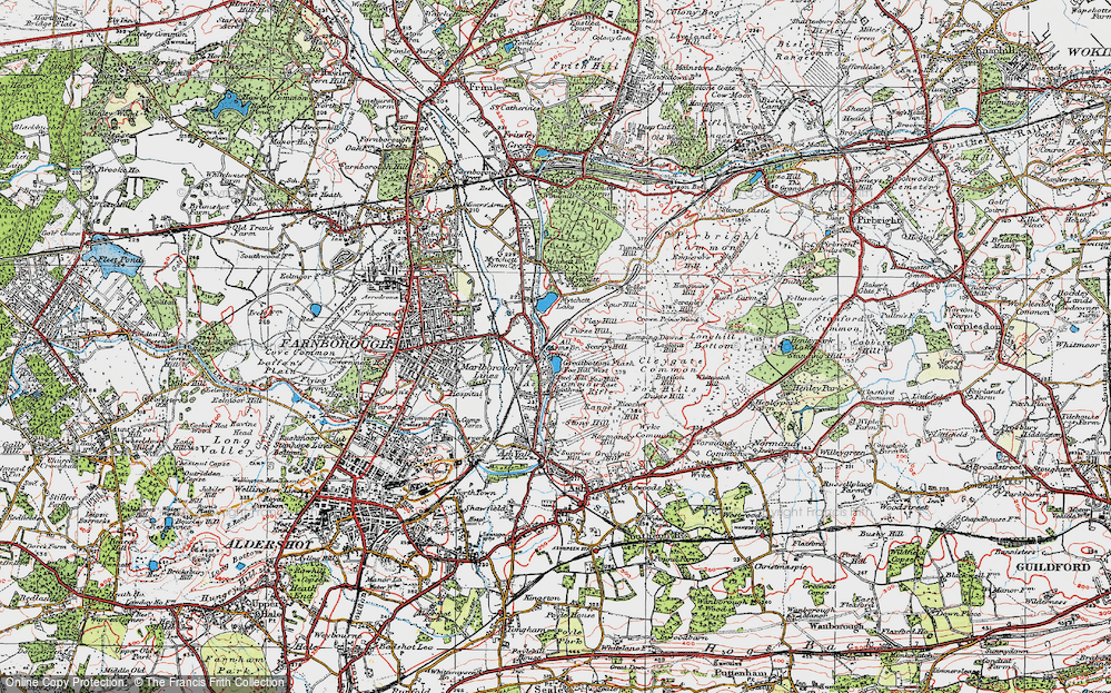 Ash Vale, 1919