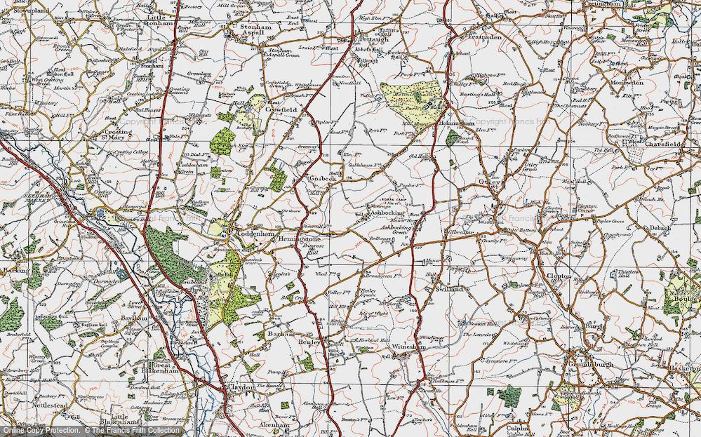 Ashbocking, 1921