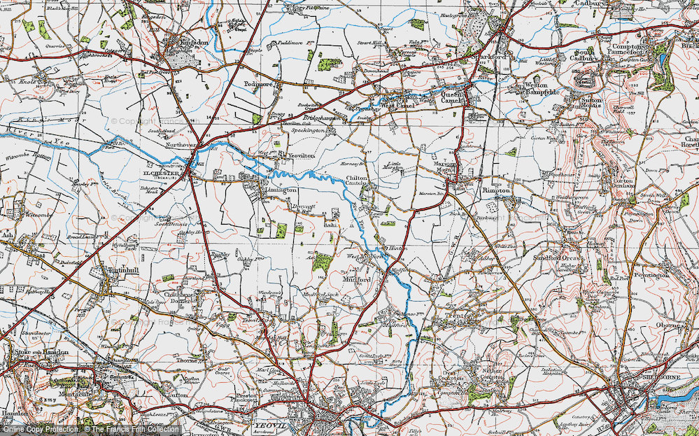 Old Map of Ashington, 1919 in 1919