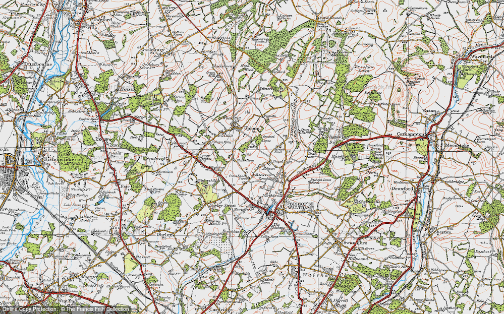 Old Map of Ashton, 1919 in 1919