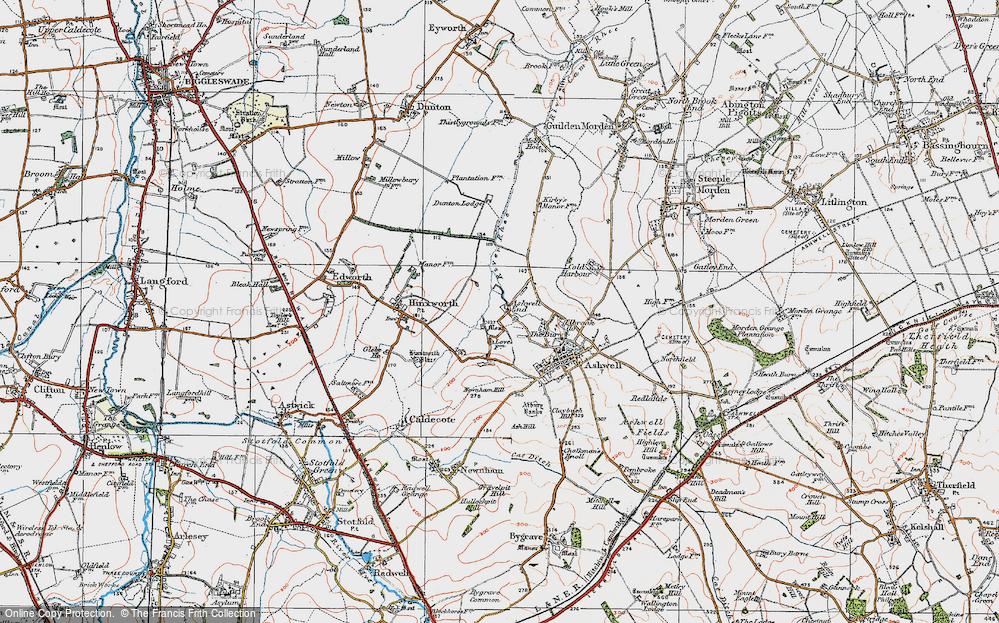 Ashwell End, 1919