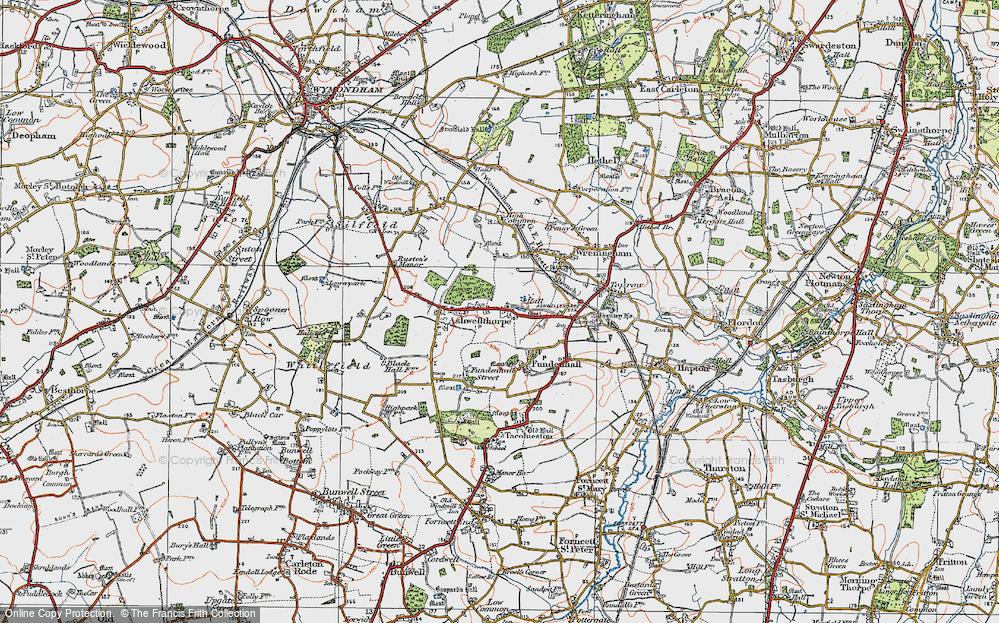 Ashwellthorpe, 1922