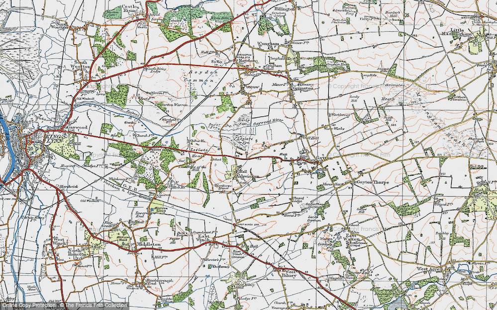 Ashwicken, 1921