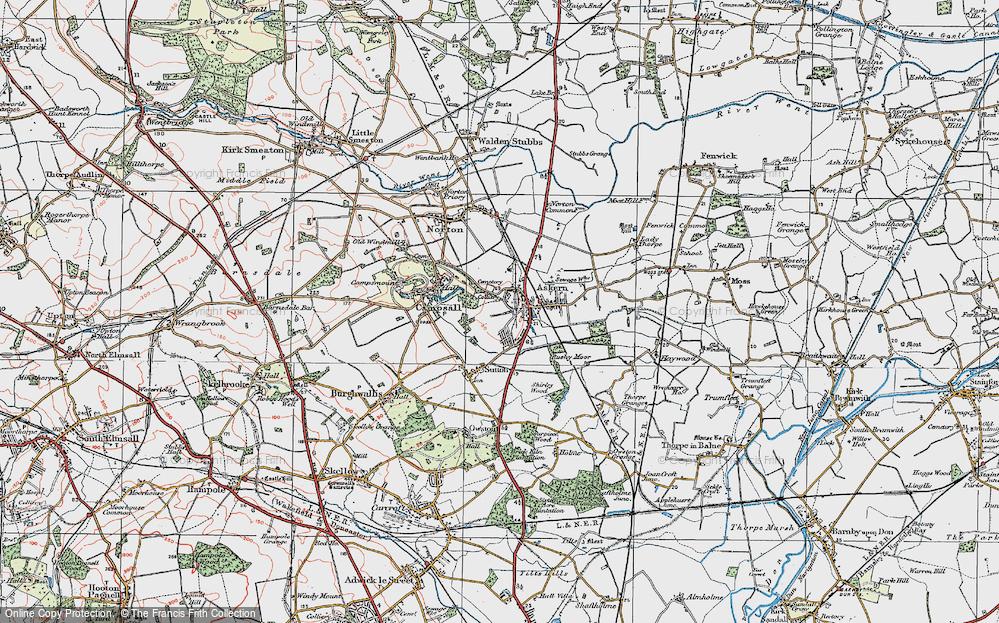 Askern, 1923
