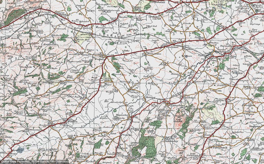 Asterley, 1921
