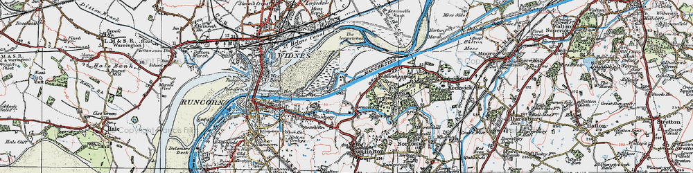 Old map of Wigg Island Community Park in 1923