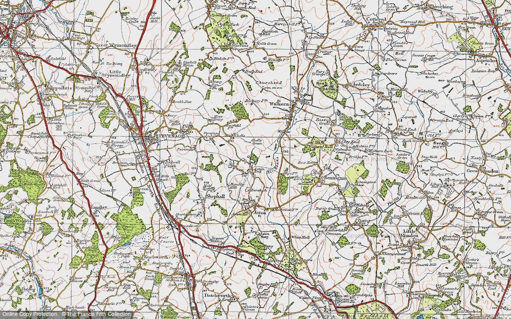 Aston End, 1920