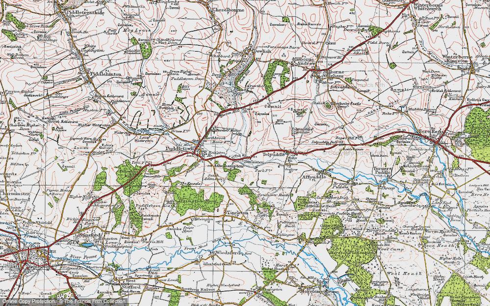 Athelhampton, 1919