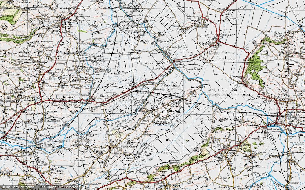 Athelney, 1919