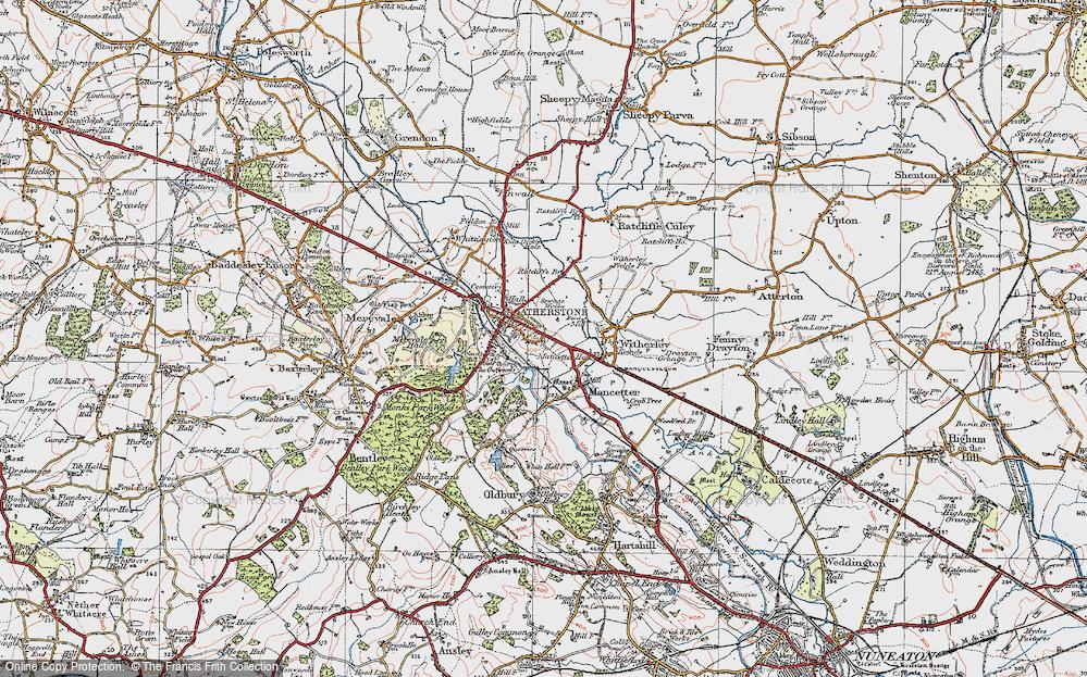 Atherstone, 1921