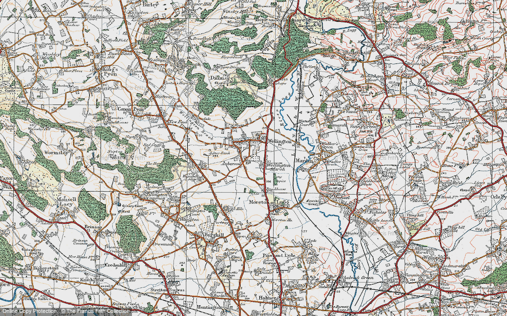 Auberrow, 1920