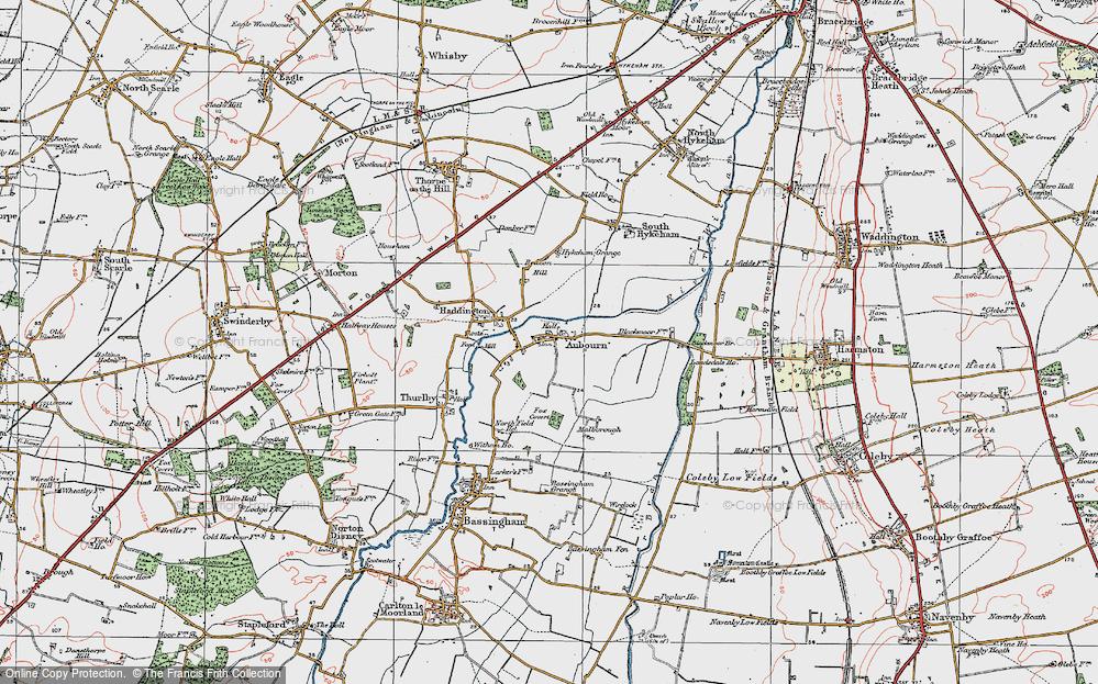 Aubourn, 1923