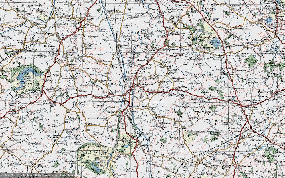 Audlem, 1921