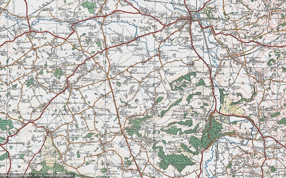 Aulden, 1920