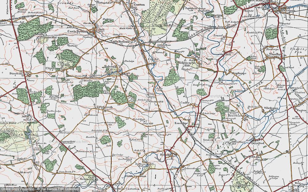 Aunby, 1922